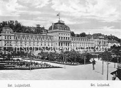 Historisches Foto von Budapest (ca. 1900); Lukasbad.