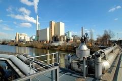 Die Müllverwertungsanlage an der Borsigstrasse in Hamburg Billbrook wurde 1931 in Betrieb genommen und ersetzte die stillgelegte Anlage am Bullerdeich. Technik und Industriearchitektur in Hamburg Billbrook.