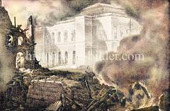 Die Neue Börse wurde beim Hamburger Brand von 1842 verschont.