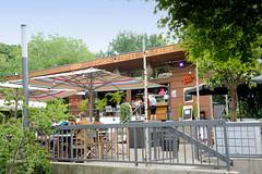 Café Schöne Aussichten in den Hamburger Wallanlagen / Planten un Blomen.