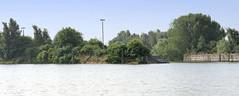 Fotos aus dem Hamburger Stadtteil Kleiner Grasbrook, Bezirk Mitte; Blick zum Veddelhöft und der Einfahrt zum Moldauhafen.