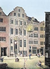 Küperamtshaus / Zunfthaus des Böttger, Kiemer- und Küper-Amtes in der Niedernstraße der Hamburger Altstadt.
